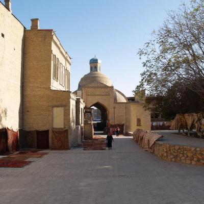 L'Ouzbekistan et ses villes sur la route de la soie