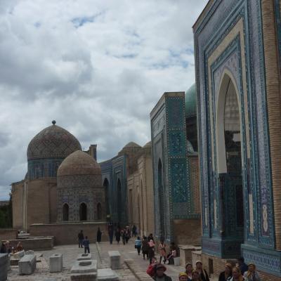 La nécropole Chakhi-Zinda