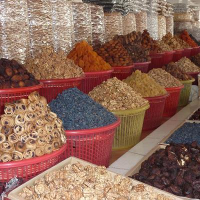 Marché aux fruits secs (Bouzouri) de Samarkand